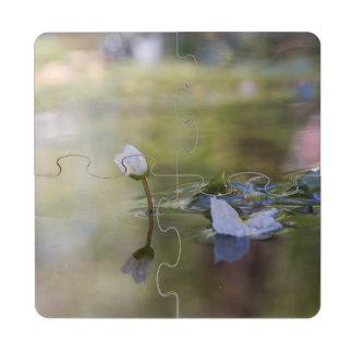 Posavasos de puzzle de las reflexiones