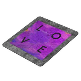 Posavasos de puzzle del amor