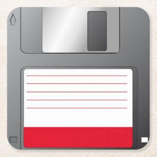 Posavasos Floppy disk Posavasos Personalizable Cuadrado