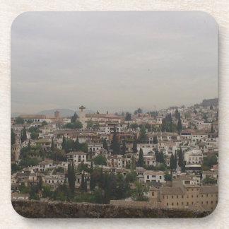 Posavasos paisaje Albaicín, Granada
