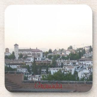posavasos paisaje Albaicín Granada España