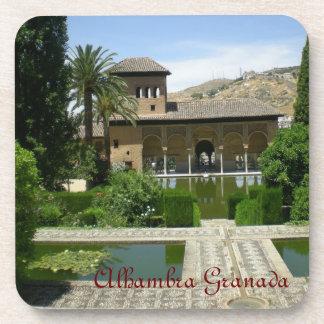 posavasos paisaje Alhambra Granada