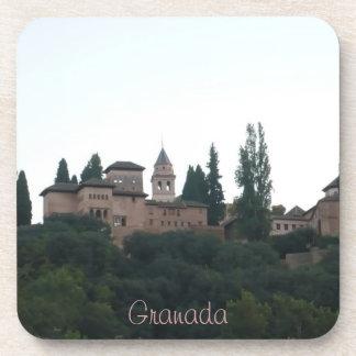 posavasos paisaje Alhambra Granada España