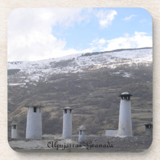 posavasos paisaje Alpujarras Granada