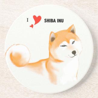 Posavasos Shiba inu Posavasos Personalizados