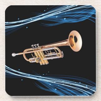 Posavasos trompeta