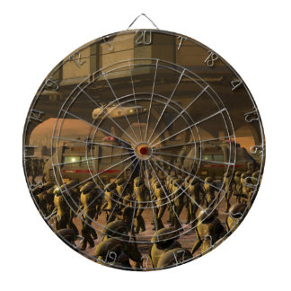 Posbi City - space trooper Dartboard