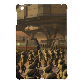 Posbi City - space trooper iPad Mini Cases