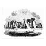 Posctard del arte del vintage de Stonehenge Postales