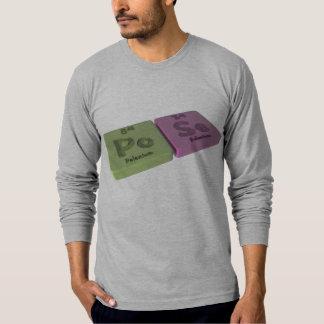 Pose as Po Polonium and Se Selenium T-Shirt
