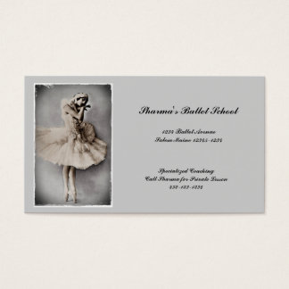Posed en Pointe Business Card