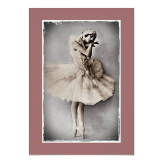 Posed en Pointe Card