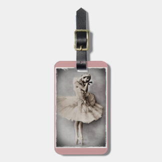 Posed en Pointe Luggage Tag