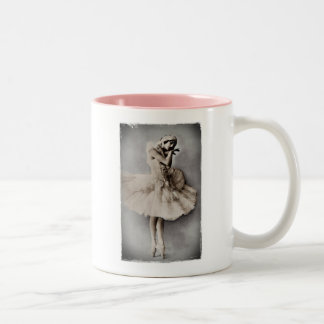 Posed en Pointe Two-Tone Coffee Mug