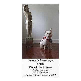 Posed Customized Photo Card