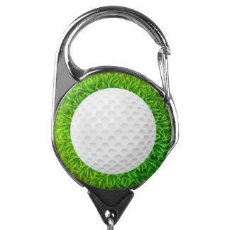 Poseedor de una tarjeta de identificación del golf