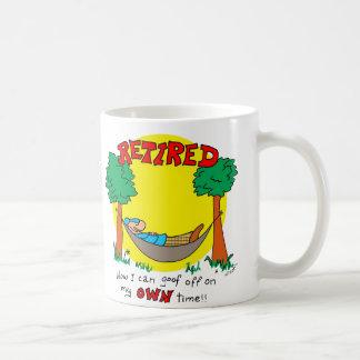 Poseer tiempo taza de café