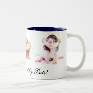 ¡Poseído orgulloso por las ratas! Taza De Café