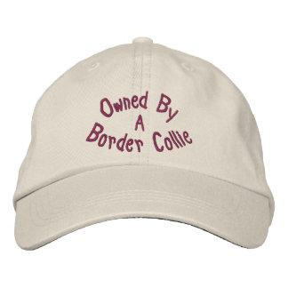 Poseído por el border collie lindo gorra de beisbol bordada