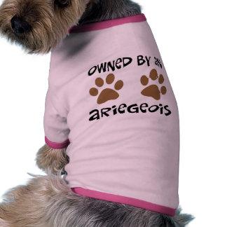 Poseído por un Ariegeois Camiseta Con Mangas Para Perro