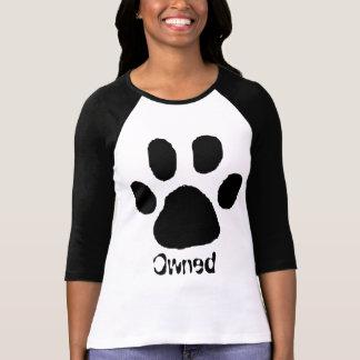 Poseído por un gato camiseta