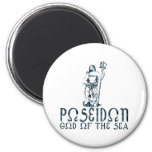 Poseidon 2 Inch Round Magnet