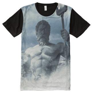 Poseidon All-Over Print T-shirt