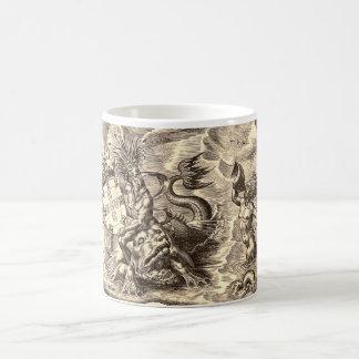 Poseidon at Sea Coffee Mug