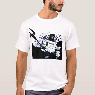 Poseidon! Dark black and blue T-Shirt