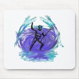 Poseidon God of the Sea 1 Mouse Pads