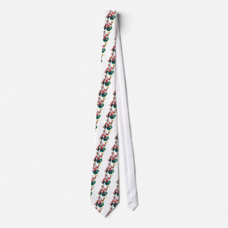 Poseidon, Greek God of the Sea Holding Trident Tie