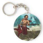 Poseidon Merman Keychain