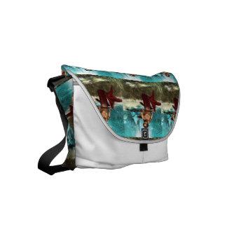 Poseidon Merman Small Messenger Bag