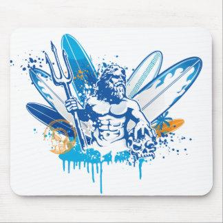 poseidon surfer mousemat