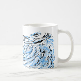 Poseidon Taza Básica Blanca