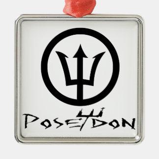 Poseidon Tshirts.png Metal Ornament