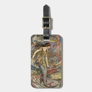 Poseidon's Daughter Tag For Bags