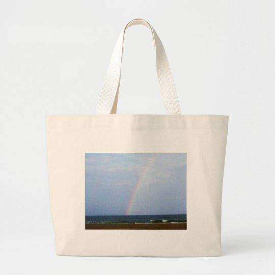 Poseidon's Rainbow Large Tote Bag