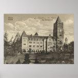 Posen, Alemania, Castle, 1920 Impresiones