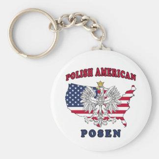 Posen Michigan Polish Keychain