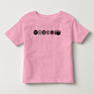 Poser For A Photograph Toddler T-shirt
