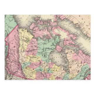 Posesiones británicas, rusas y danesas postales