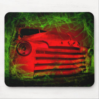 posessed vintage car mouse pad