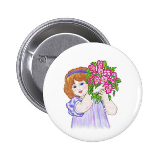 Posey for Poppa Pinback Button