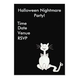 Posh Cat Invitation