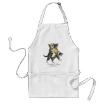 Posh Cats Wedding Apron