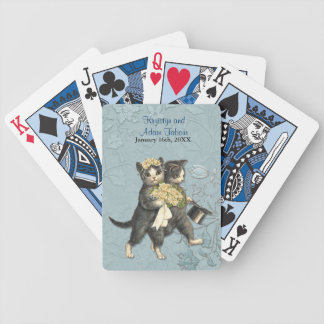 Posh Cats Wedding Cards Bicycle Playing Cards