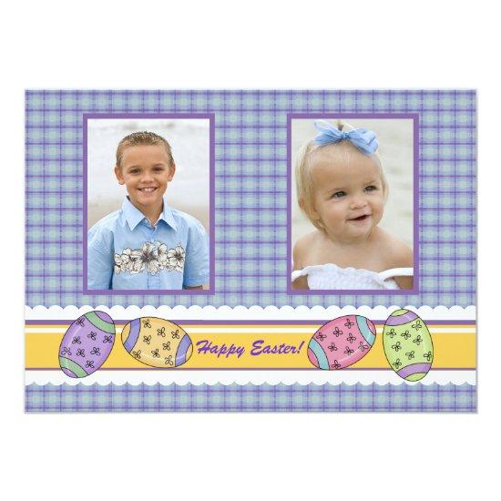 Posh Easter Photo Card