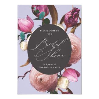 Posh Floral | Light Purple | Bridal Shower Invitation