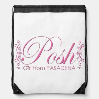 Posh Girl From PASADENA Drawstring Bag